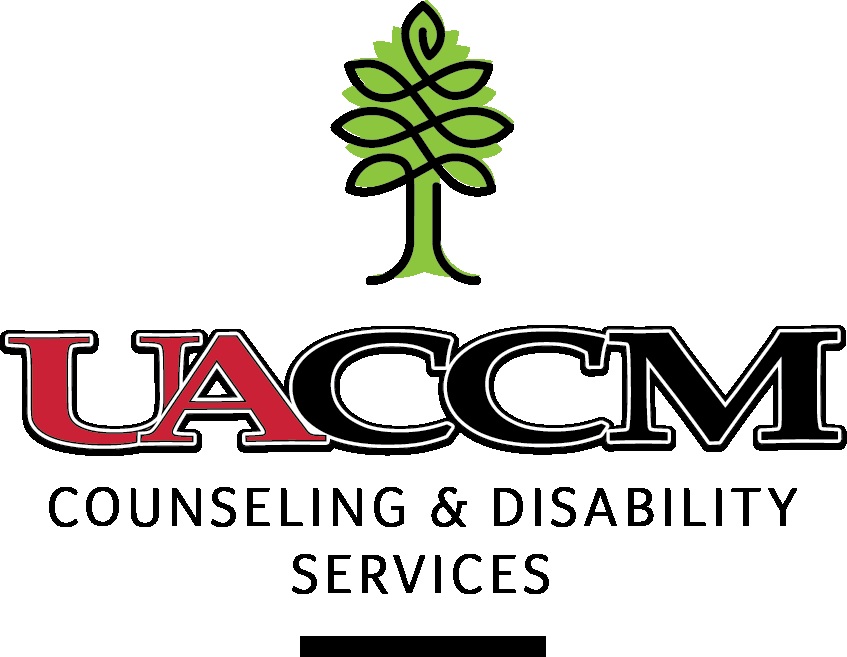 UACCM Counseling & Disability Services Logo